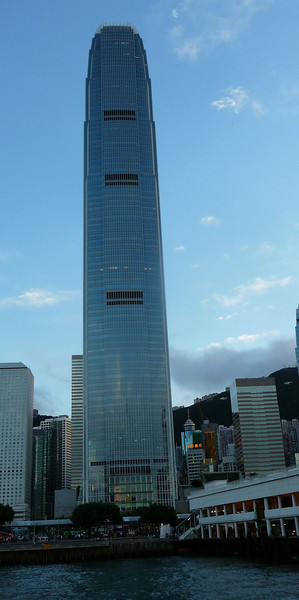 International Finance Center building 2 at Central, Hong Kong island