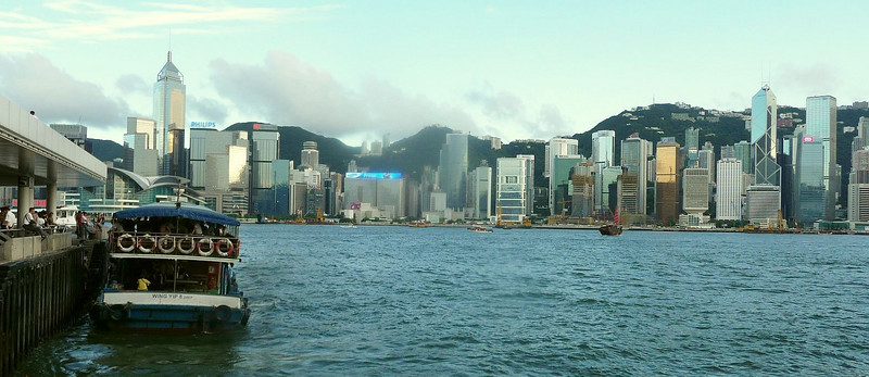 Harbour from Tsim Sha Tsui