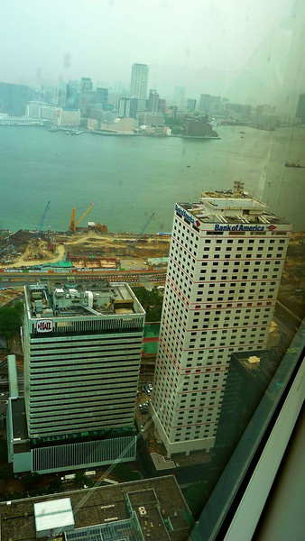 Bank of America and view to Tsim Sha Tsui