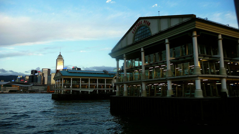 The new Central ferry pier