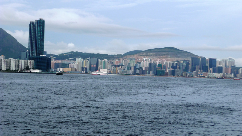 View towards Kai Tak
