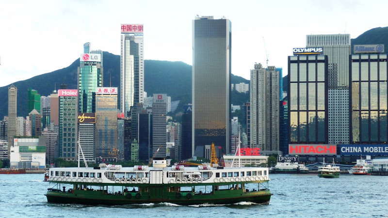 Apart from its enormous skyscraper office and apartment blocks the Star Ferries of Victoria Harbour, Hong Kong are surely the world famous icon of 'Asia's World City'