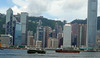 This part of Hong Kong port seems to be quieter than it was in the 1980s but it is only comparitively quiet!