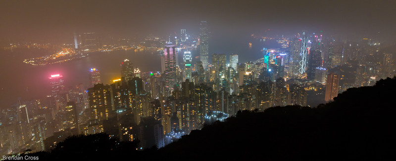 Honestly, I was a little too irritated at the weather in Hong Kong when I was there. In retrospect I should've just put my camera away and lived in the moment more.<br /> It really is a magnificent city, and even on days like this it still has the best looking skyline in the world.