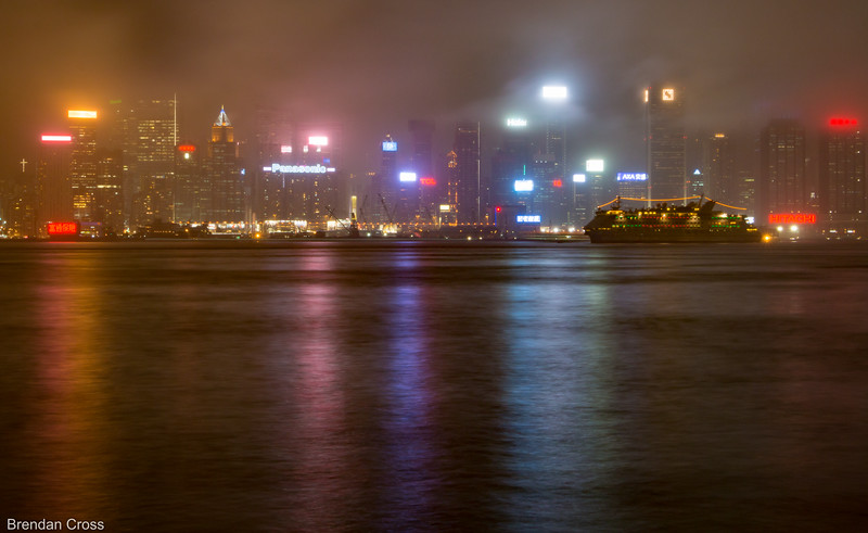 Maybe the fog made this picture a bit more interesting as opposed to the thousands of HK skyline photos taken over time...