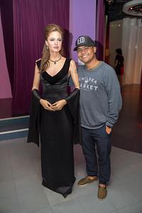 Gilbert with Angelina Jolie