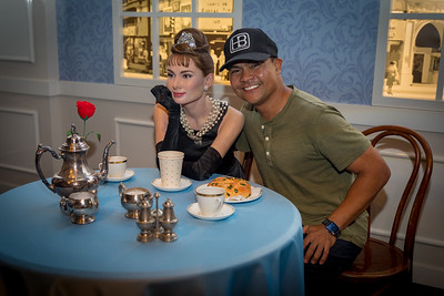 IMG_2771 - HK- Gilbert with Audrey Hepburn