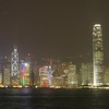 Cropped view of Hong Kong Island