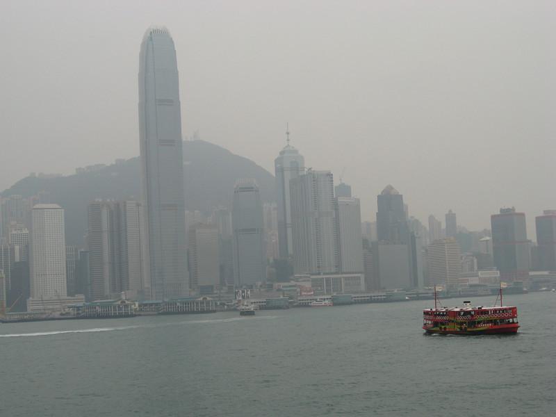 Hong Kong Island view from Kowloon