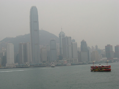 Hong Kong Island view from Kowloon