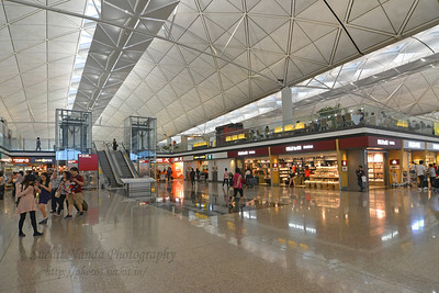 Hong Kong International Airport, HK.