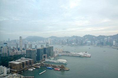 Hong Kong skyline, HK.