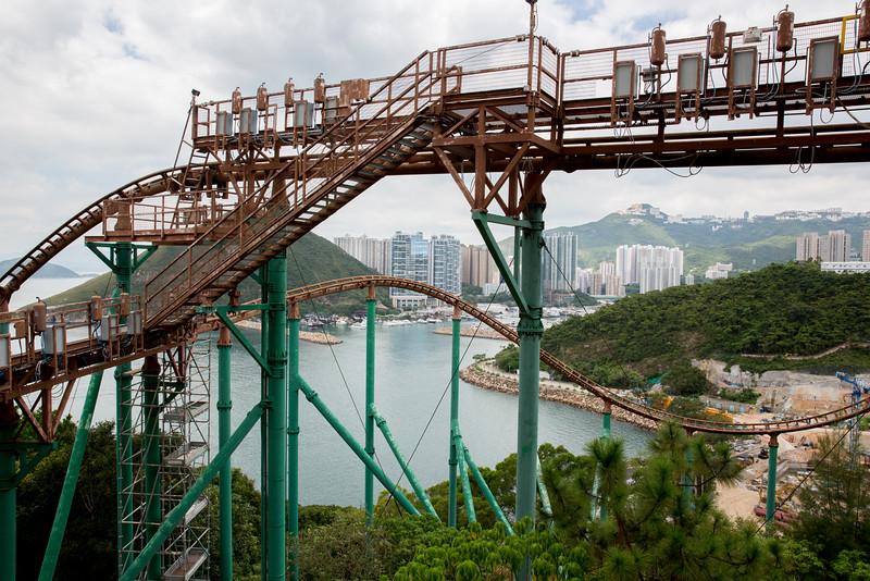 Mine Train Ocean Park Hong Kong