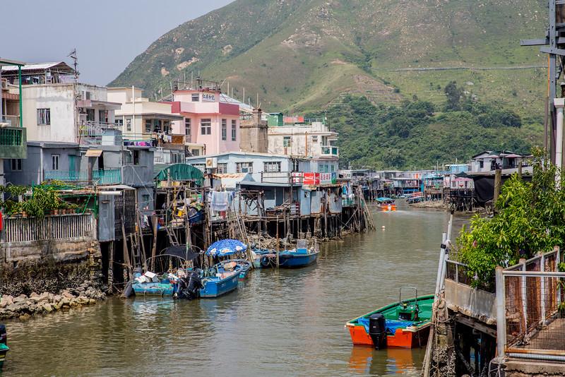Tai O rybářská vesnička