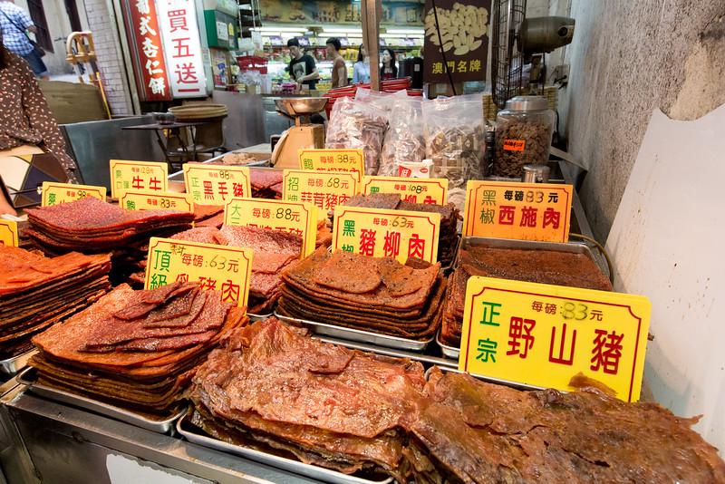 Macau trh jídlo