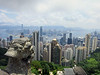 HK Central (foreground) and Kowloon from Victoria Peak