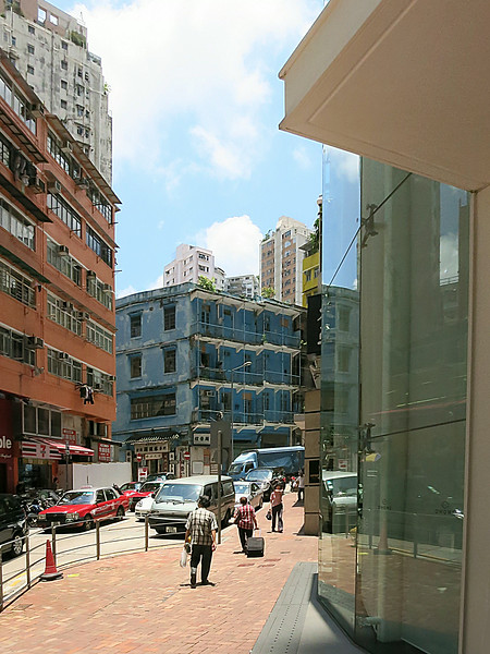 Older (original) housing in Central