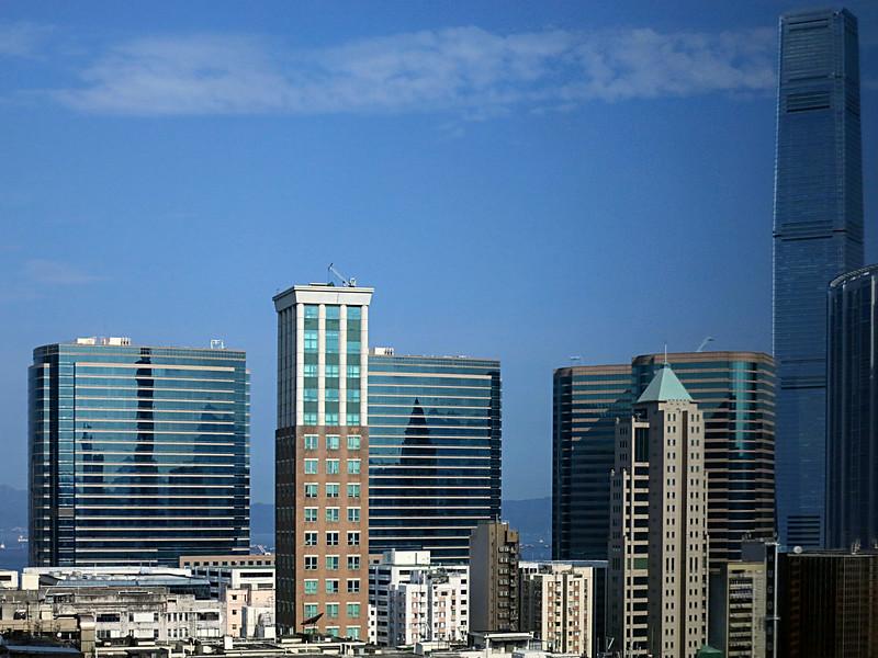 Int'l Commerce Center, 118 floors, is HK's tallest building