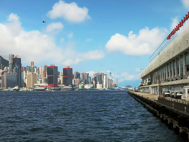 HK Central from the Star Ferry Terminal in Kowloon