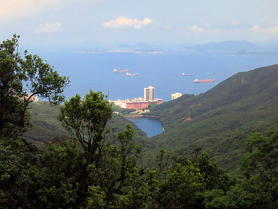 Pok Fu Lam Reservoir, southwest side of HK Island