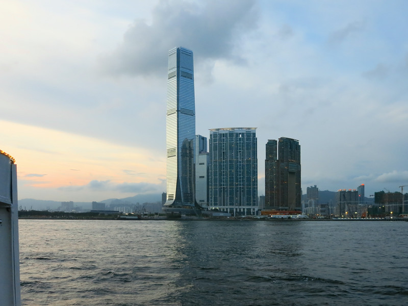 International Commerce Centre, West Kowloon, Tallest building in Hong Kong, 1,588 feet, 118 floors