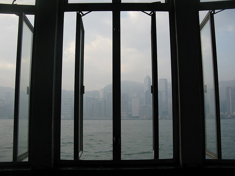 Hong Kong, from Kowloon ferry building