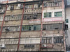 Chungking Mansion, Kowloon (with Helaman's Ivory factory, USA Hotel, and X-Ray Service)