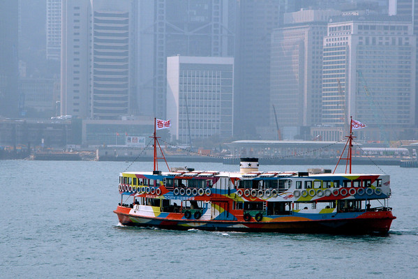 The Star Ferry connects Kowtoon to Hong Kong island. This ferry is a throwback to an earlier age in Hong Kong. However, they run quite efficiently.