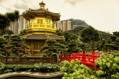 Nan Lian Gardens in Kowloon