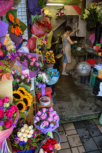 Flower Market in Kowloon