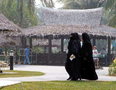 Saudi Babes Hit the Beach