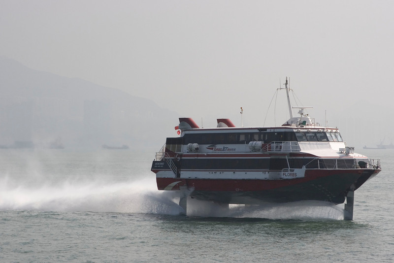 The High-speed Hydrofoil to Macau