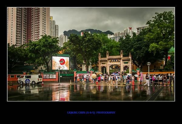 不要门票的香港热门景点-黄大仙庙