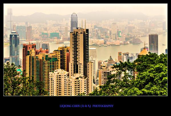 要看香港全景,太平山是首先