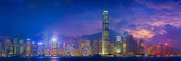 Hong Kong Panorama.