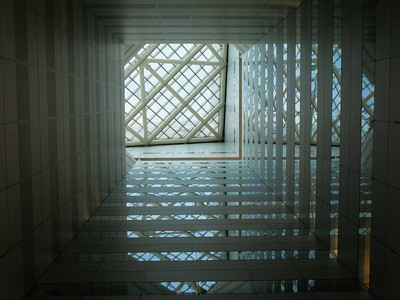Skylight at the Bank of China.