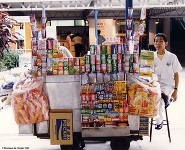 Stall at the Star Ferry