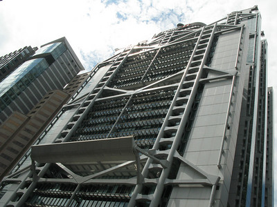 Hong Kong Shanghai Bank by Norman Foster