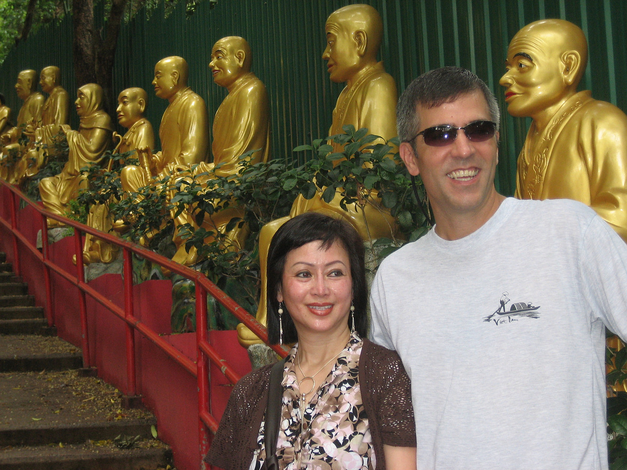 Friends from Boise (HK residents), Nancy & Gregg, our local tour guides!