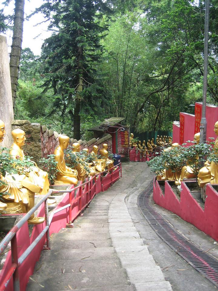 10,000 Buddhas monastery, Kowloon