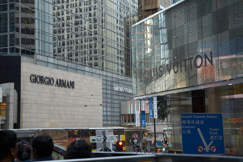 If you're into big designer brands, you can probably find it in downtown Hong Kong.