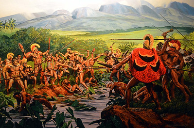 Mural of Early Conflicts