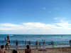 Waikiki beach.  There are way too many people in Waikiki.