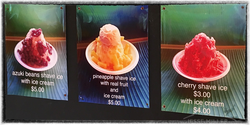 Shave Ice - North Shore Oahu