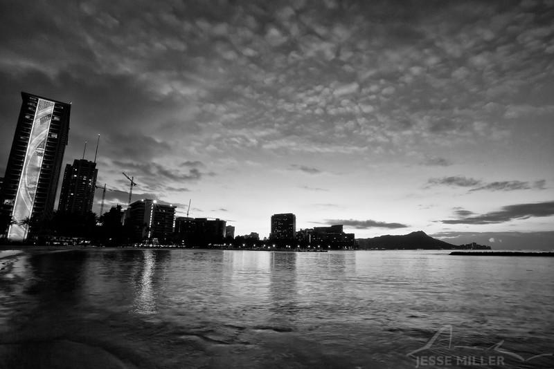 Honolulu Sunrise - Hilton Hawaiian Village - Honolulu, Oahu