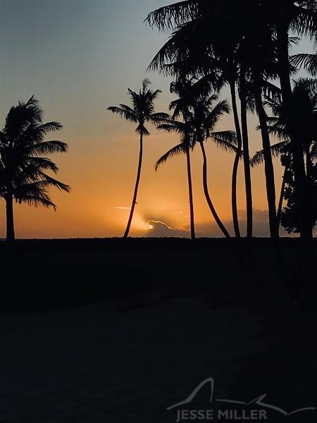 Sunset at Ko'olina