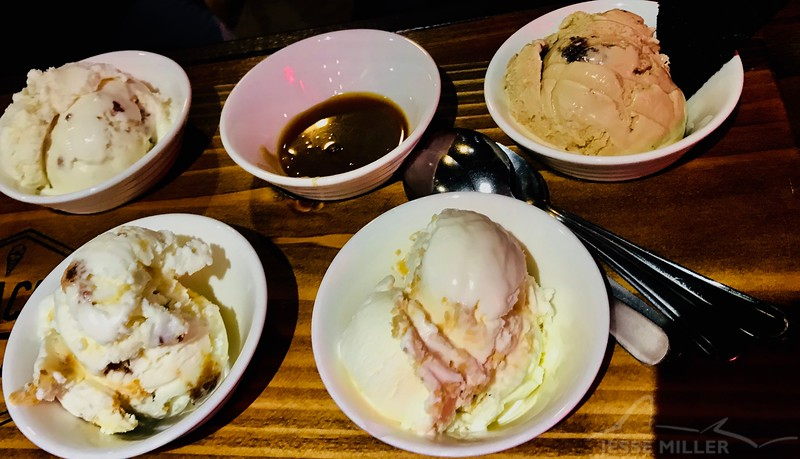 Ice Cream Sampler Oahu