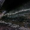 Ape Cave Lava Tube. 2.5 miles long.