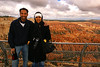 The two of us at Bryce Point with the Bryce Amphitheater behind us.