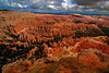 Bryce Canyon as seen from the Inspiration Point.